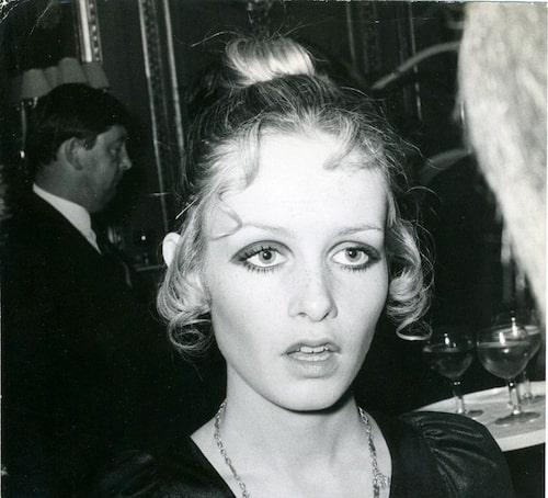 60-talets stora modellstjärna Twiggy.