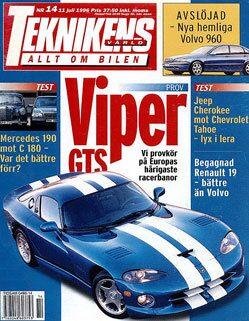 Teknikens Värld nummer 14 / 1996