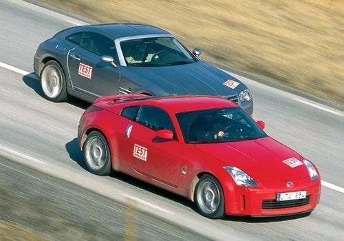 Nissan 350 Z och Chrysler Crossfire