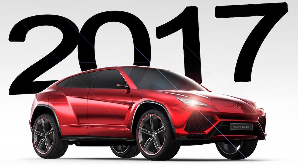Lamborghini Urus presenteras 2017