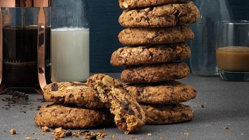 Recept på cookies.