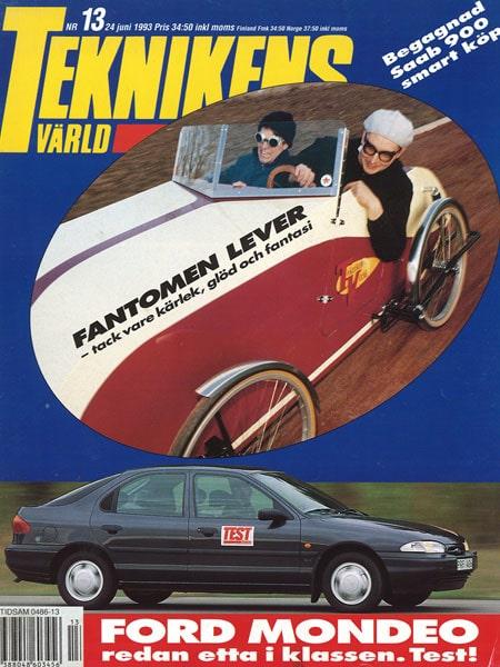 Teknikens Värld nummer 13 / 1993