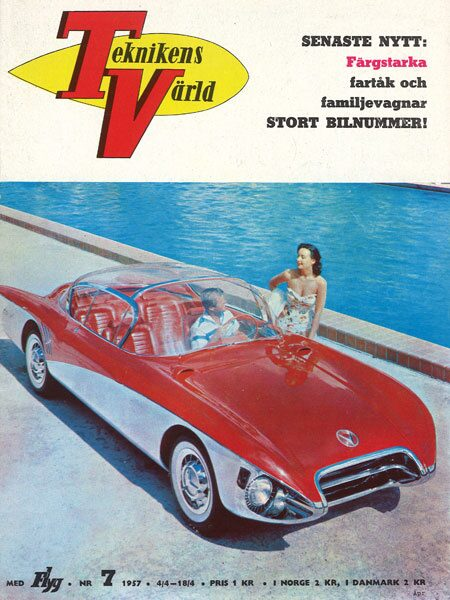 Teknikens Värld nummer 7 / 1957