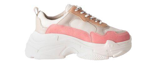 Färgglada chunky sneakers från Na-kd för dam.