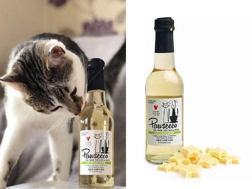Klicka på bilden för att köpa hem pawsecco till ditt husdjur.