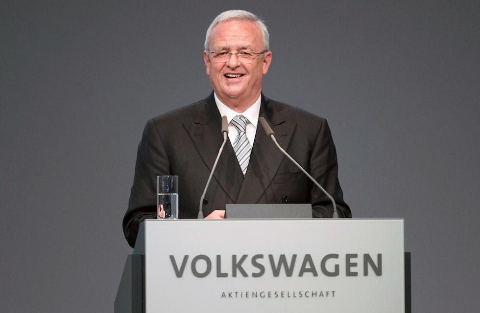 Martin Winterkorn, vd Volkswagen AG.