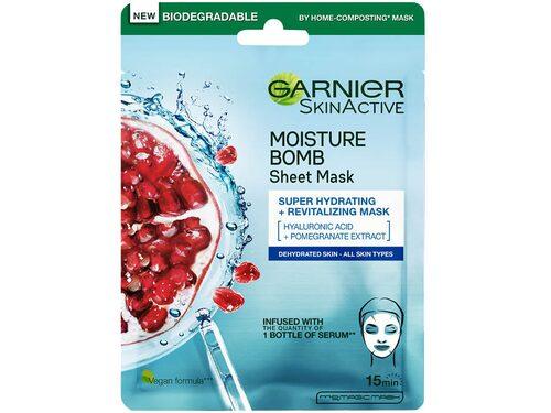 Recension på Moisture bomb tissue mask super-hydrating & energizing från Garnier.