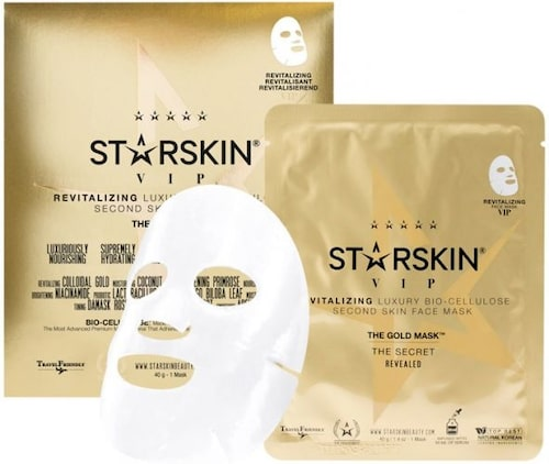 Recension på Vip the gold mask revitalizing bio-cellulose skin face mask, Starskin.