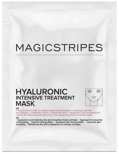 Recension på Hyaluronic intensive treatment mask, Magicstripes.