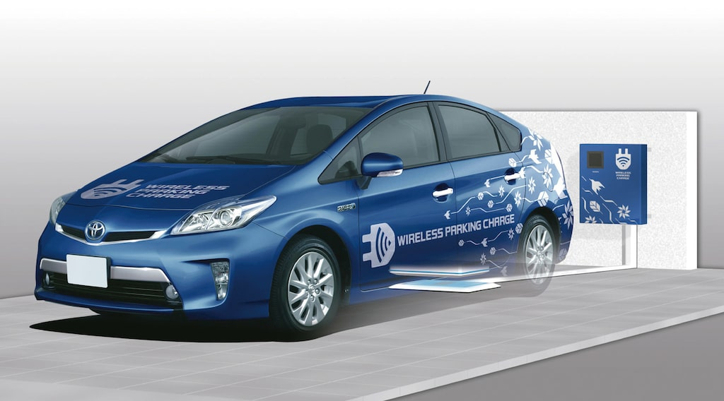 Toyota Pris trådlös laddning