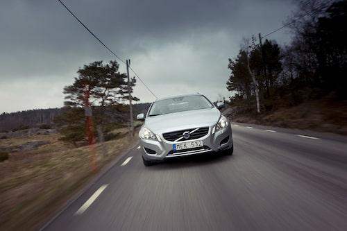 Ser ut som en vanligt Volvo V60...