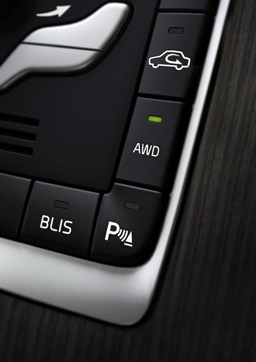 Volvo V60 Plug-in Hybrid är fyrhjulsdriven när så behövs.