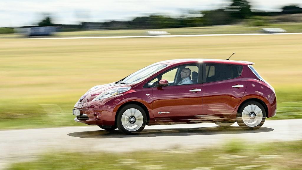 Nuvarande Nissan Leaf har funnits på marknaden sedan 2010.