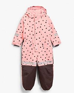 Kappahls overall finns i rosa och svart.