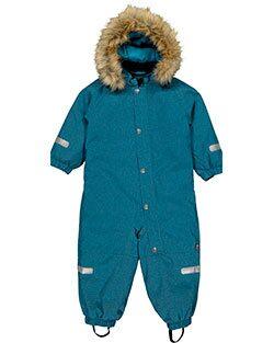 Polarns overall finns i turkost eller blått och i två prisspann.