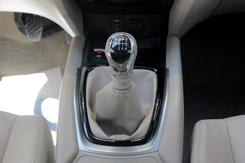 Vill du köra X-Trail med fyrhjulsdrift är det sexväxlad manuell låda som gäller.