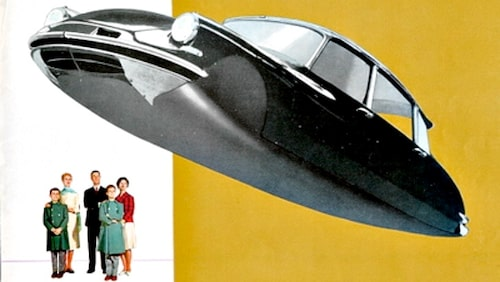Citroën DS utan hjul
