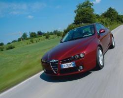 Provkörning av Alfa Romeo 159