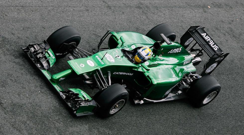 Marcus Ericsson Caterham CT05