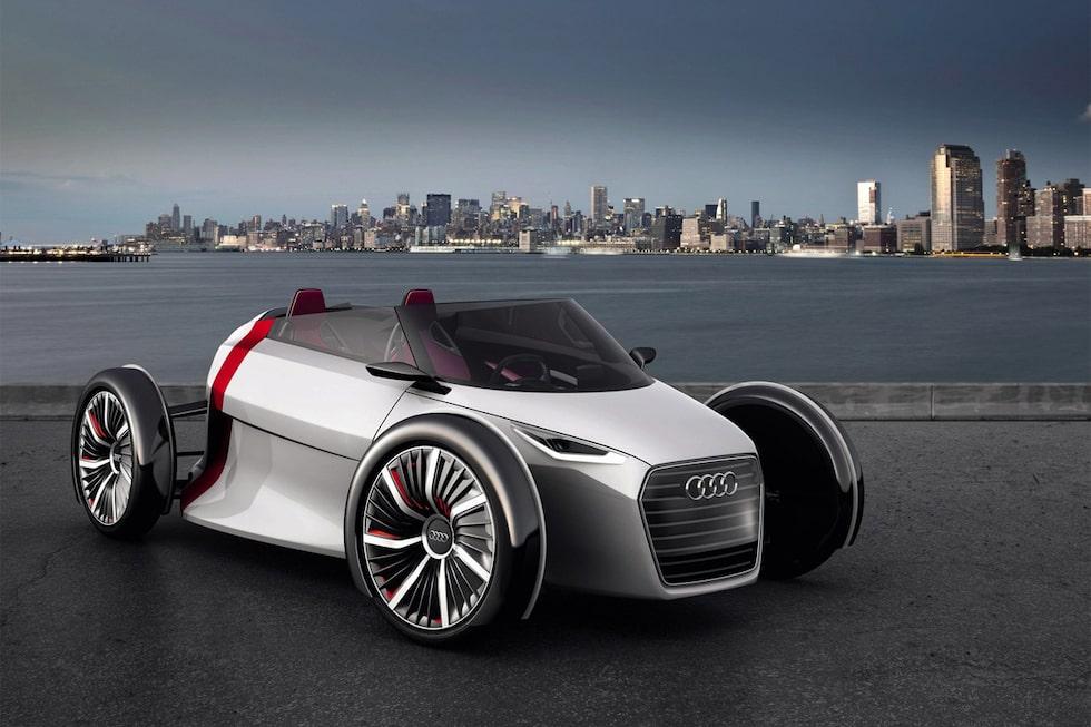 Audi Urban Concept. Här i Spyder-utförande.
