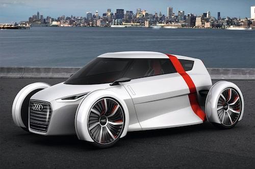 Audi Urban Concept finns även som täckt version och kallas då Sportback.