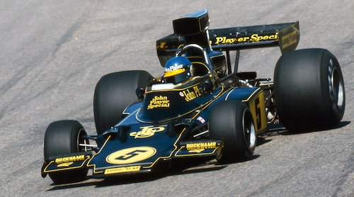 Ronnie Peterson, Lotus 72E, Anderstorp 1975.