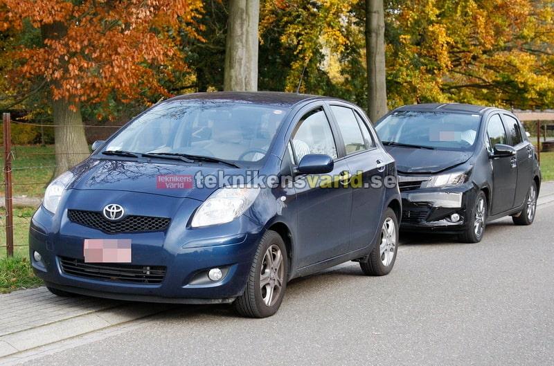 Gamla vs nya Toyota Yaris.