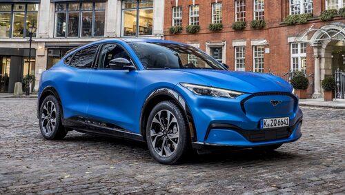 Mustang Mach-E är Fords första steg in i elbilsgenren.