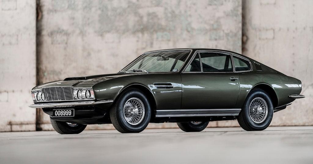 Aston Martin DBS, 1967-1972.