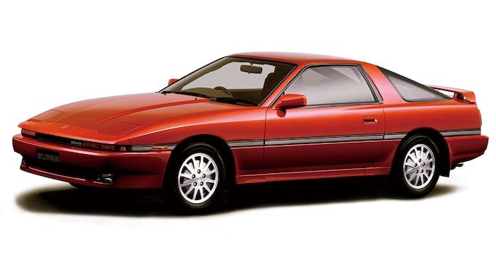 Toyota Supra A70, 1986-1993.