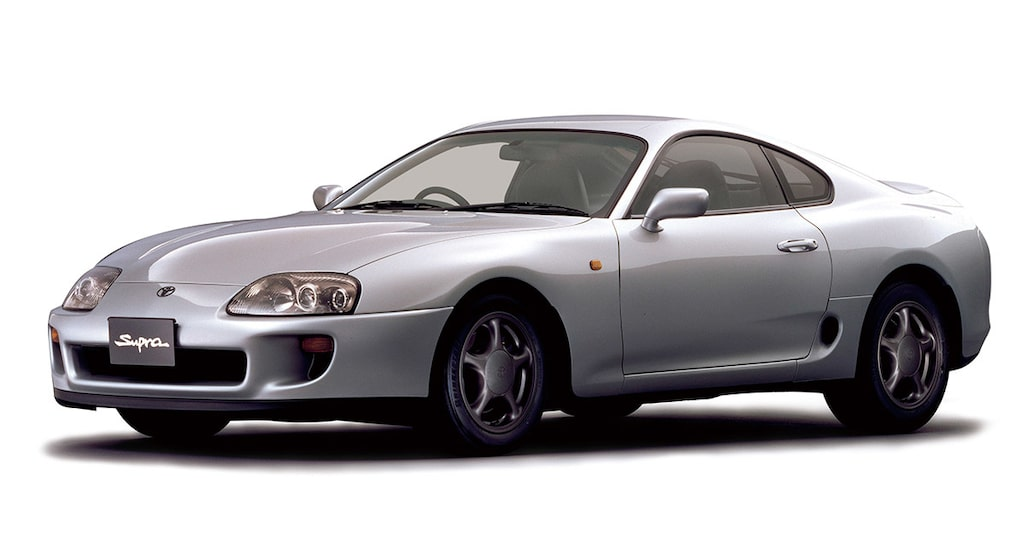 Toyota Supra A80, 1993-2002.
