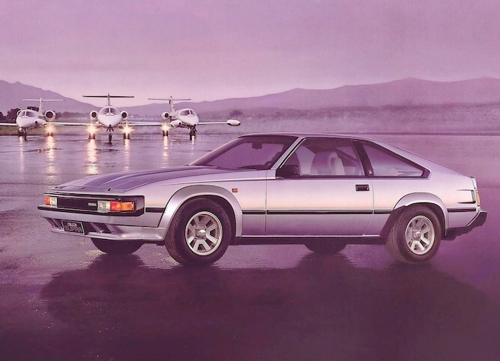 Toyota Supra Celica Supra 1981-1985.