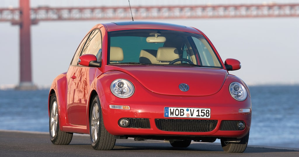 Volkswagen New Beetle, 1998-2011.