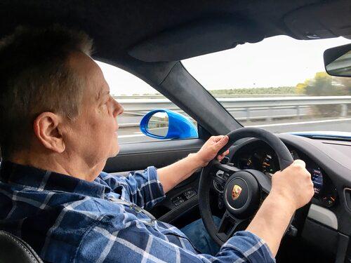 Señor PeO Kjellström på spanska vägar igen. Nu i närheten av Guadix i en Porsche 911 GT3.
