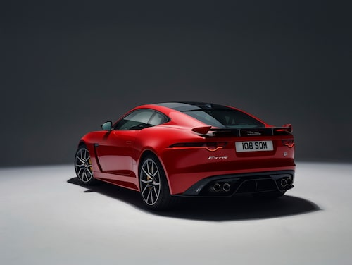 Jaguar F-Type SVR Coupé 2018