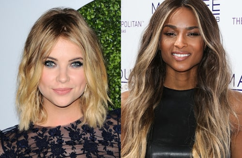 Ashley Benson och Ciara.