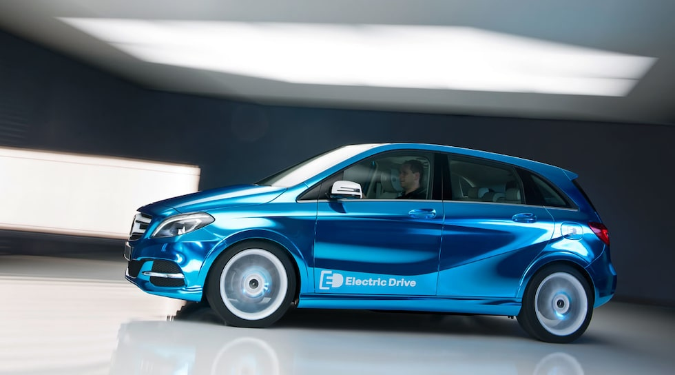 Mercedes B-klass Electric Drive