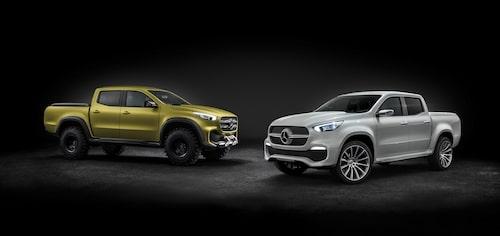 Mercedes Concept X-Class Powerful Adventurer och Concept X-Class Stylish Explorer