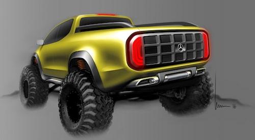 Mercedes Concept X-Class Powerful Adventurer