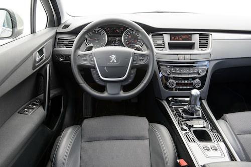 Peugeot 508 SW (mellanklass)