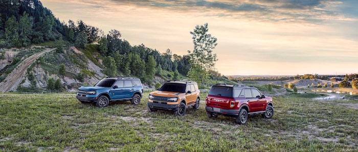 Nya Ford Bronco har blivit en hel familj med olika modellversioner.