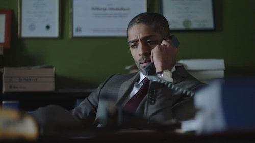 Alexander spelar huvudrollen i tv-serien Advokaten.
