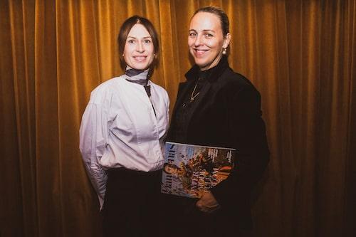 Modechef Lisa Pettersson och chefredaktör Jonna Bergh.