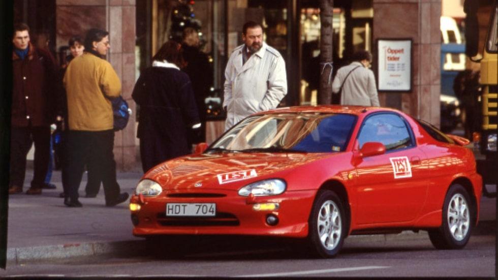 Mazda MX-3 må se ut som en sportbil, men var det inte.
