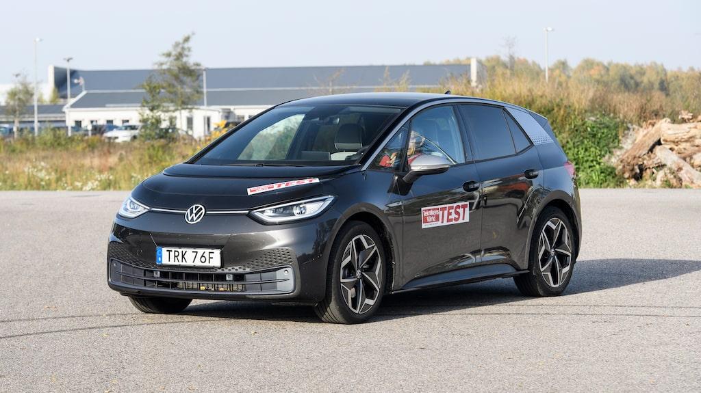 Volkswagens elbil ID.3 har betydligt lägre månadsavgift än...