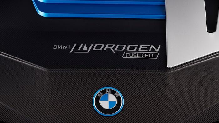 BMW iX5 Hydrogen detaljbild