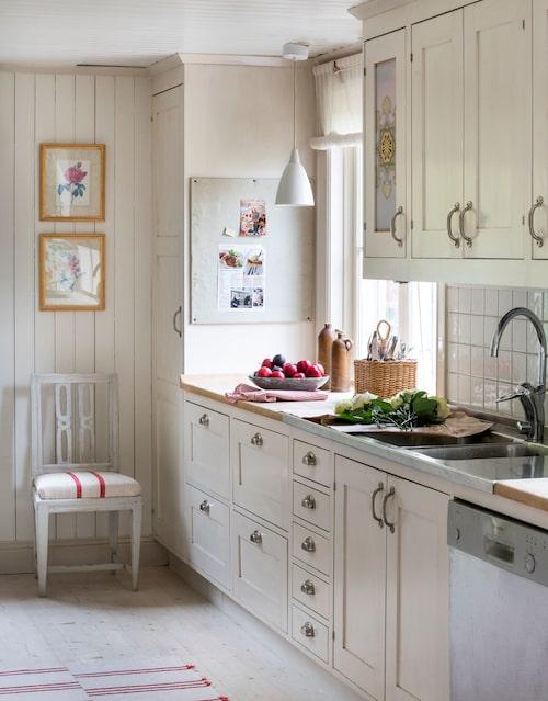 Köket från Lidhults kunde ha varit original, om man bortser från vitvarorna.