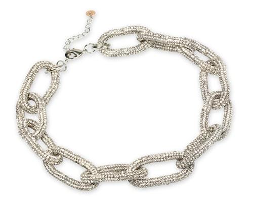 Stora länkar! Halsband från Pearls for Girls.