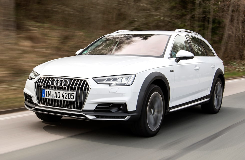 Lite högre, lite mer anpassad för usla svenska vägar. Och vips är Audi A4 mycket mer attraktiv för svenska bilköpare!