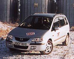 Provkörning av Mazda Premacy 1,8